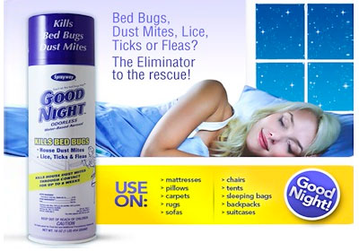Good-Night Dust mite killer spray