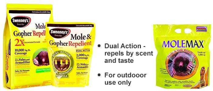 Castor Oil Gopher Repellent Granules