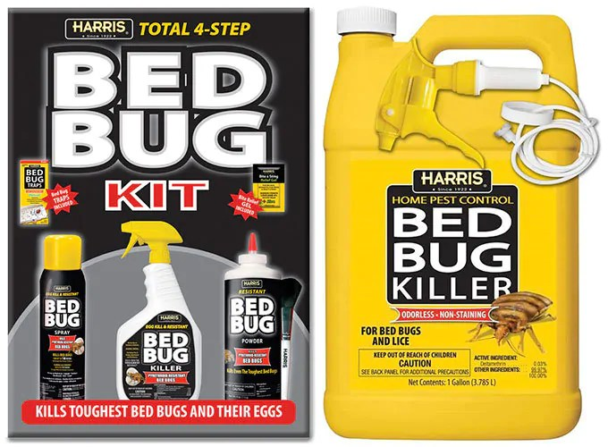 Bed Bug Killer Kit by Harris