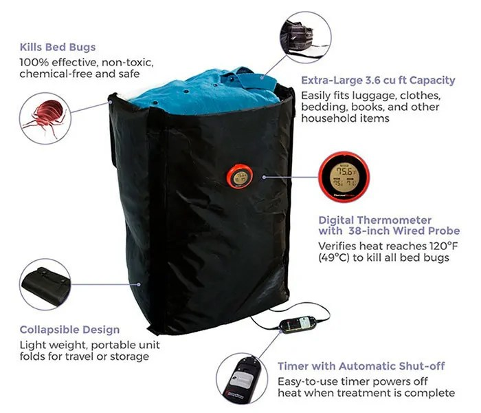 Ranger Heat Bed Bug Treatment Bag
