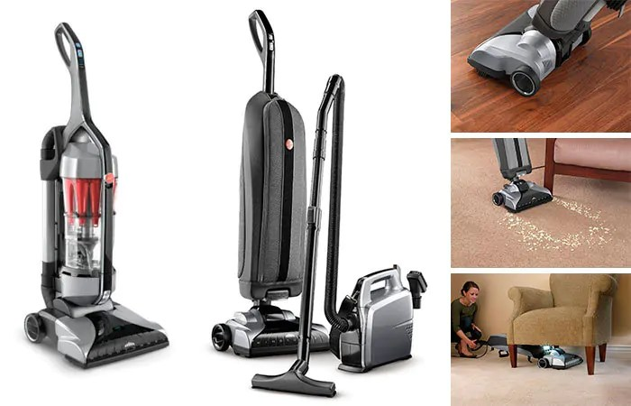 HEPA Upright Vacuum - Hoover Platinum Collection