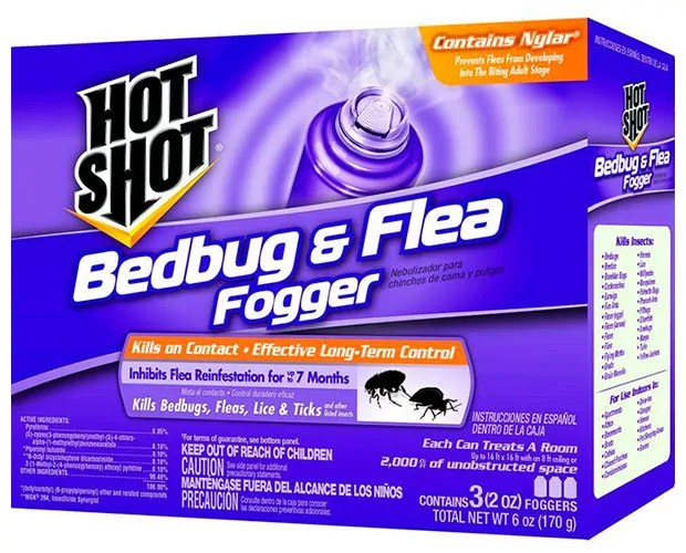 Bedbug & Flea Fogger by Hot Shot