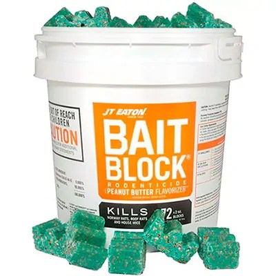 Mice Poison Bait Block by JT Eaton
