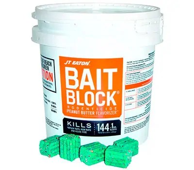 Rodenticide Bait Block by JT Eaton