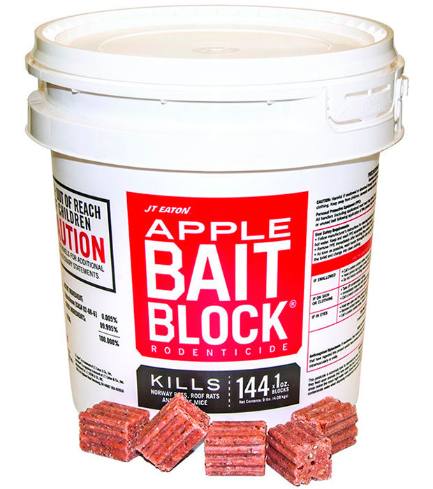Apple Bait Blocks by JT Eaton