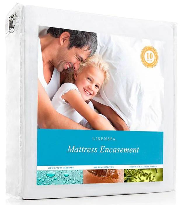 Mattress Encasement by Linenspa