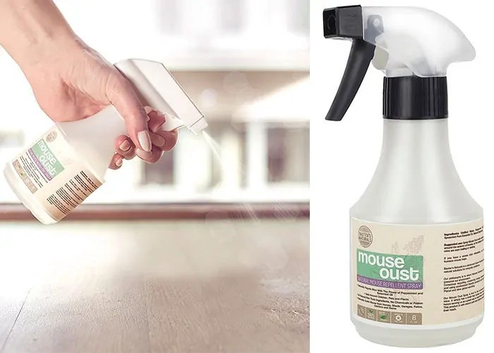Mouse Oust Repellent Spray by Baxter's Naturals