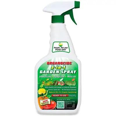 Organocide 3-in-1 Garden Spray