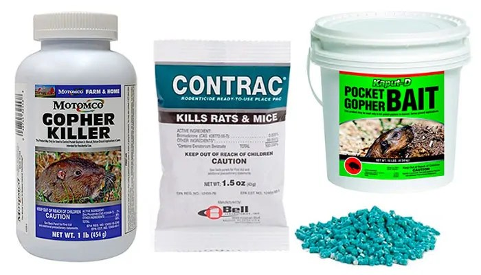 Pellets gopher products