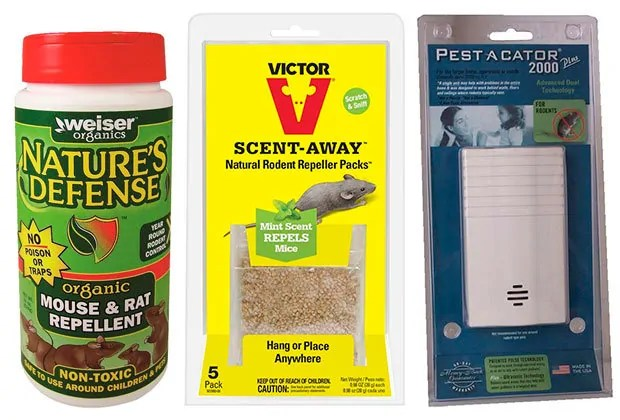 Nature's Defense, Scent-Away and Pest-A-Cator 2000