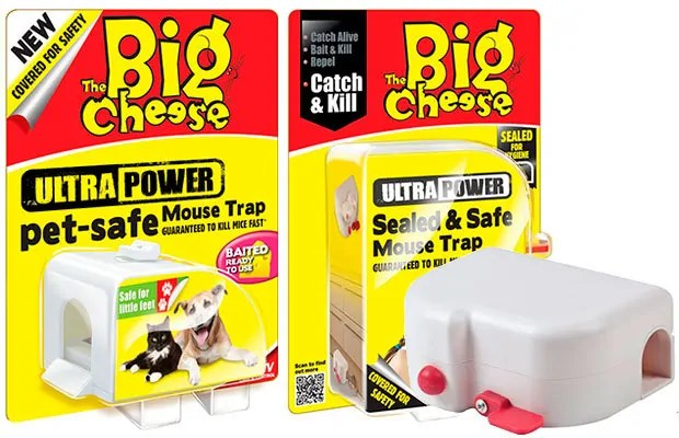 Pet safe traps without harming by The Big Cheese
