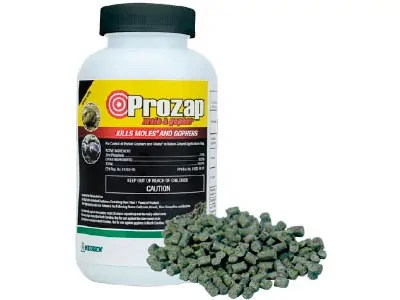 Prozap: Mole & Gopher Pelleted Bait