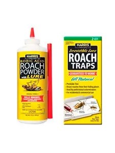 Rroach powder and traps