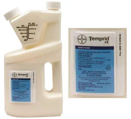 Temprid FX insecticide by Bayer with instructions