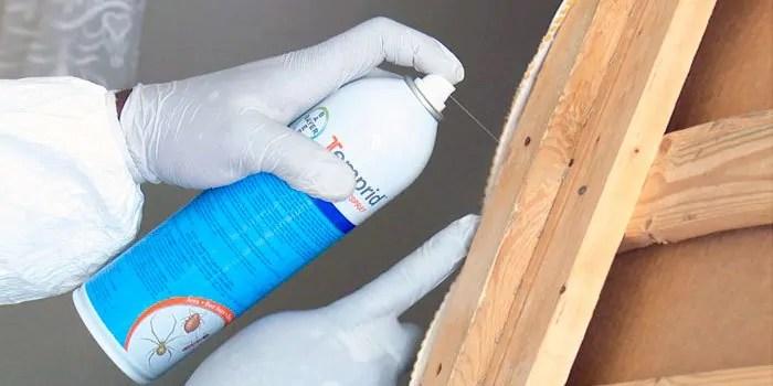 Using Temprid SC Spray