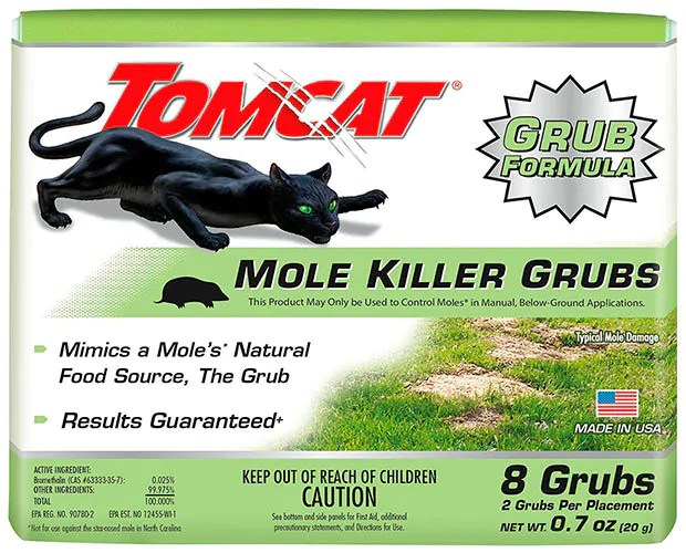 Mole Killer Grubs by Tomcat
