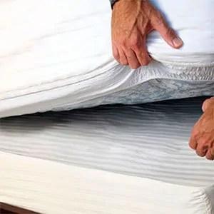 Under mattress