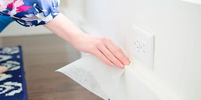 Using dryer sheets