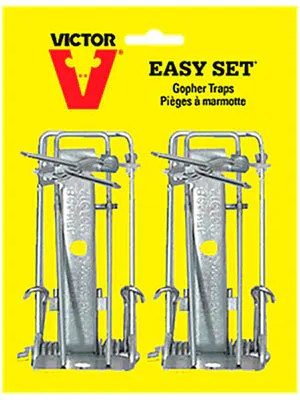 Victor easy set gopher trap