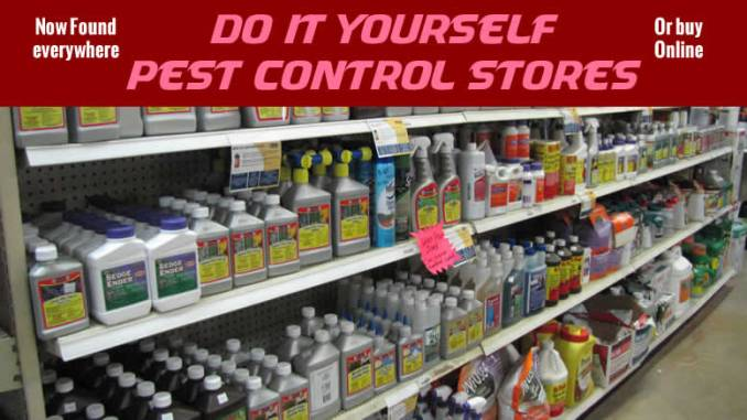 DIY Pest Control now and save