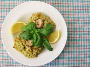 Stuffed Mushrooms with Lemon and Pesto guest post from EatsLeeds