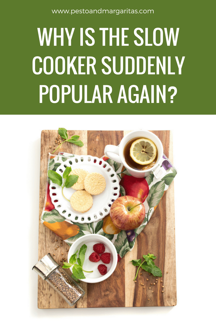 Slow cookers or crockpots have made a big comeback in recent times.  A lot of it is the convenience of a 'set and forget' cooking system.  But is that the only reason we are turning to the slow cooker once more?