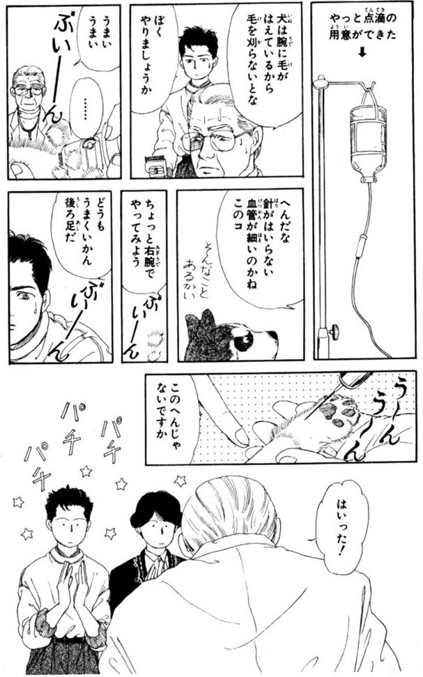 獣医がマンガ「動物のお医者さん...