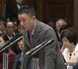 自由党の山本太郎参院議員