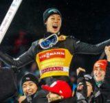 スキージャンプ 小林陵侑