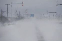 北海道 暴風雪
