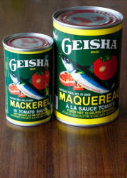 サバ缶「Geisha」