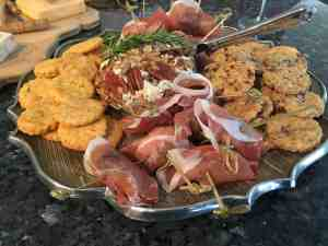 Rosemary, cheddar, biscuits, dates, stuffed dates, prosciutto