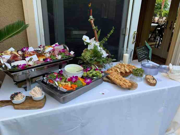 Appetizers, charcuterie