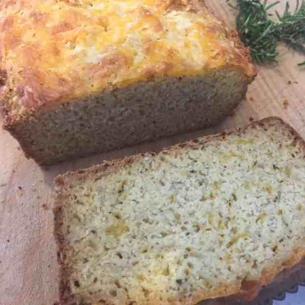 Gluten Free Cheese and Herb Beer Bread