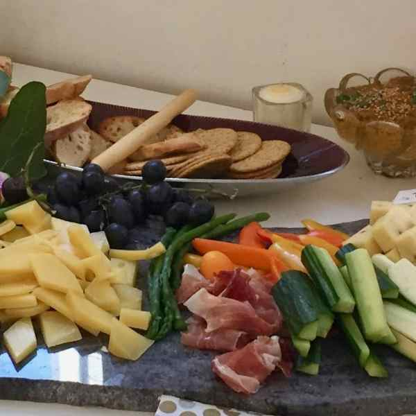 Antipasti Platter: Assorted Cheeses, Meats, Dips, Vegetables & Breads