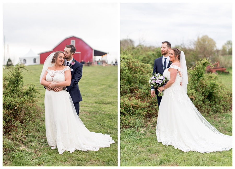 South Jersey barn wedding at Warner Road Farm