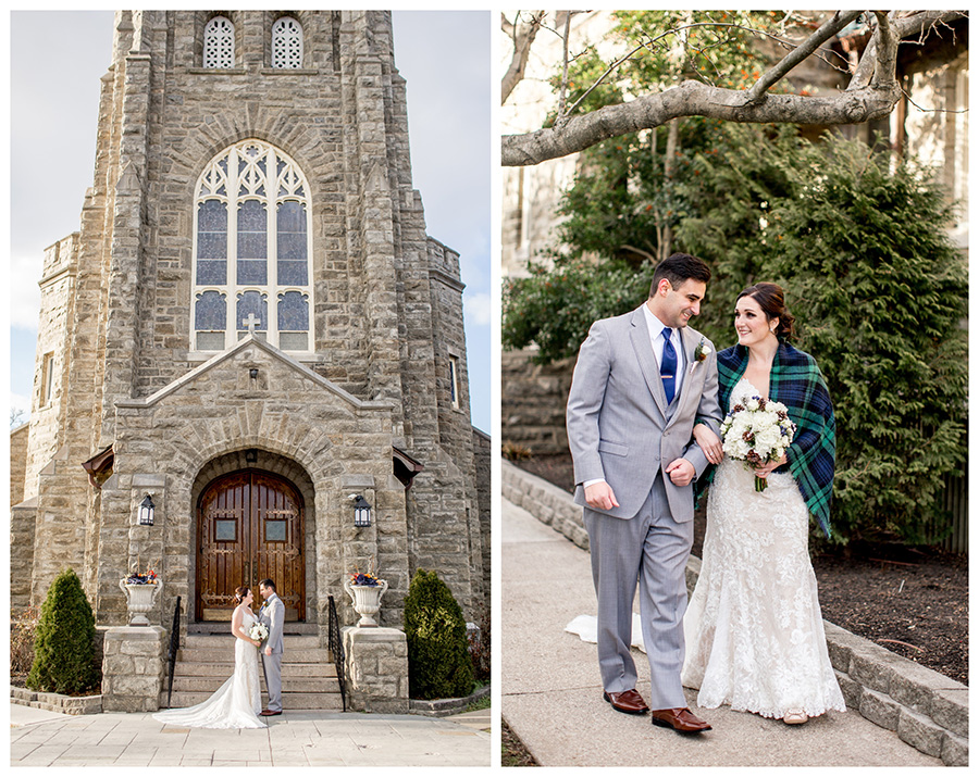 catholic wedding at immaculate conception church