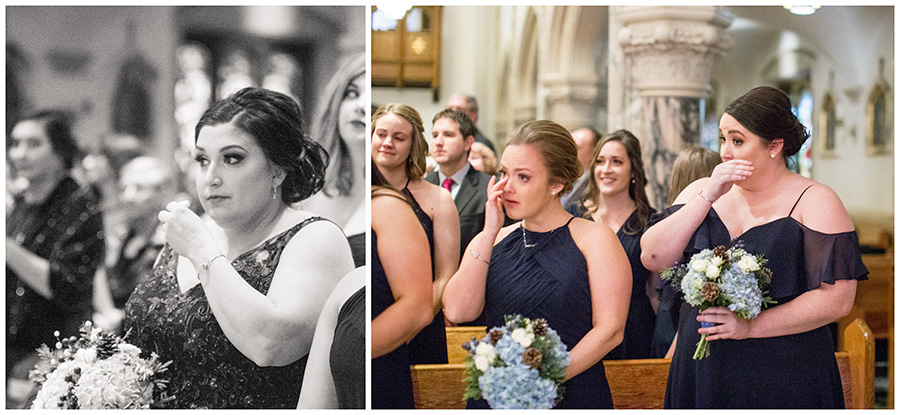 catholic wedding ceremony at immaculate conception church