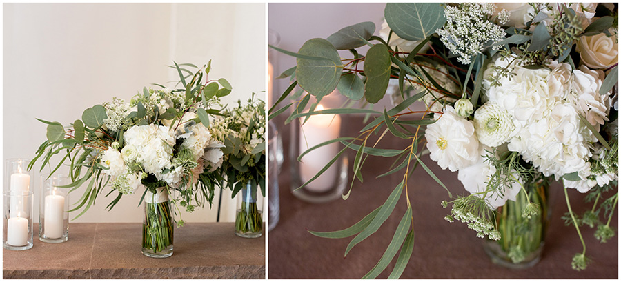greenery wedding decorations