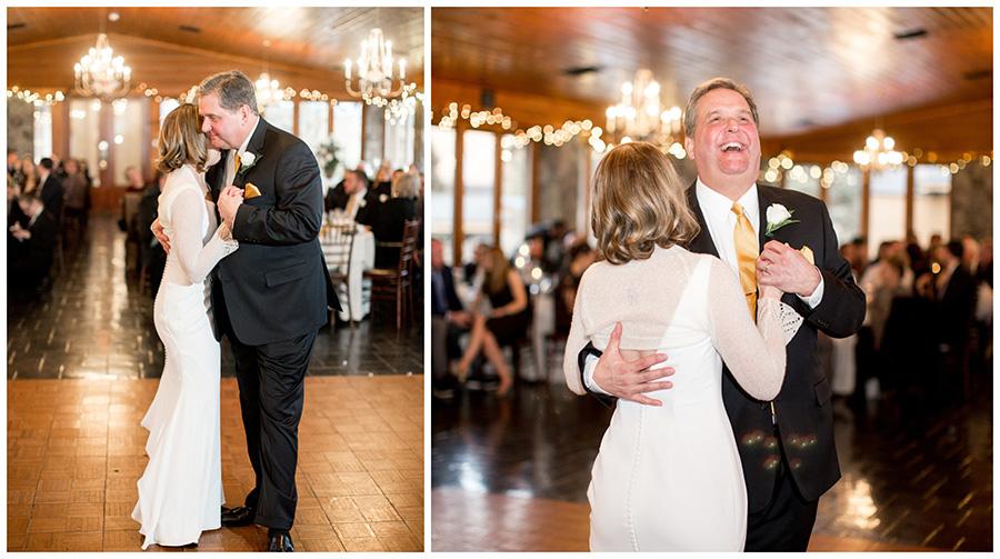 father daughter dance in lodge venue