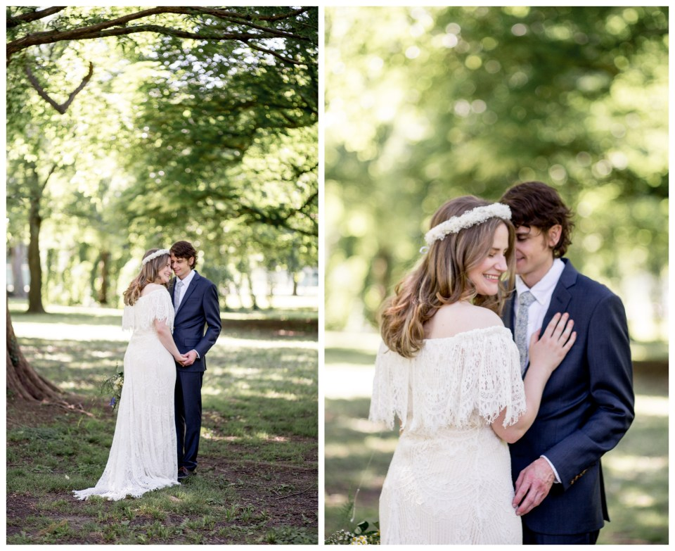 bhldn dress for bohemian bride