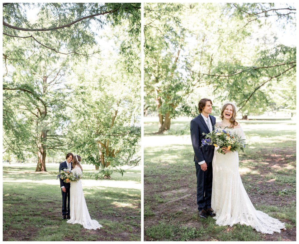 whimsical wedding portraits