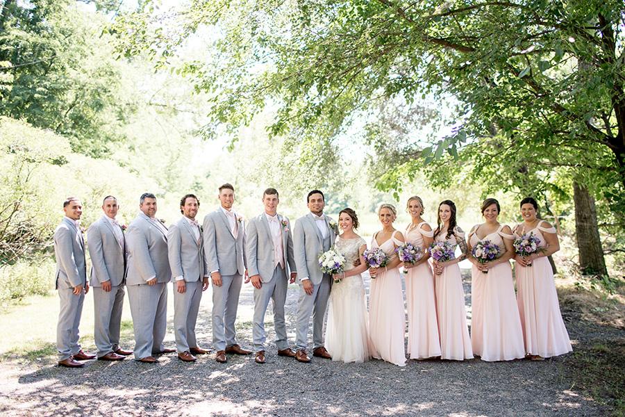 wedding party at cafe madison riverside nj
