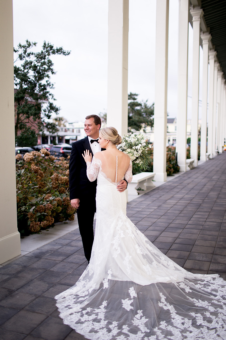 elegant wedding portraits in cape may