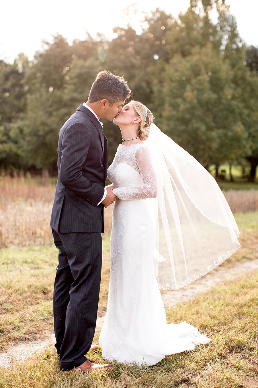 romantic country wedding in south jersey