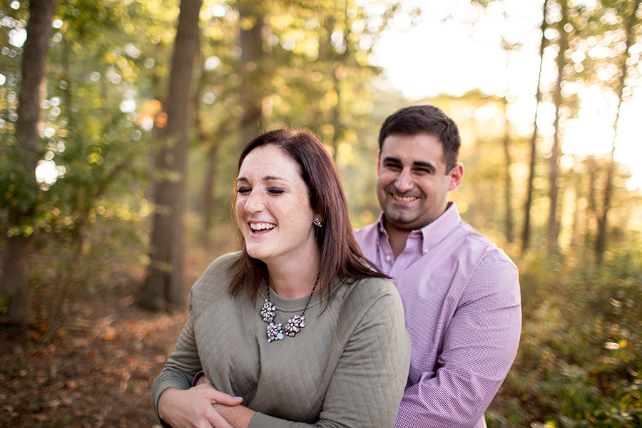 rustic engagement session in south jersey
