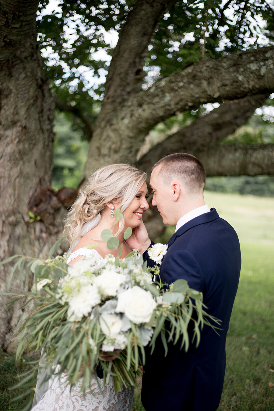 intimate wedding portraits in south jersey