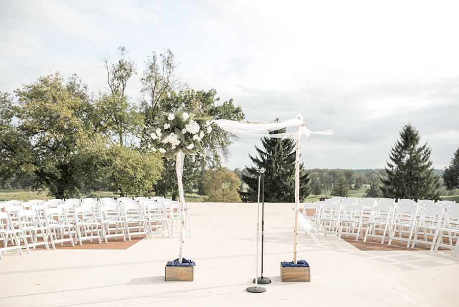 wedding ceremony space at chubb hotel and conference center