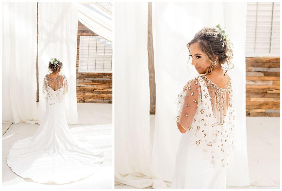 Modern BHLDN bride