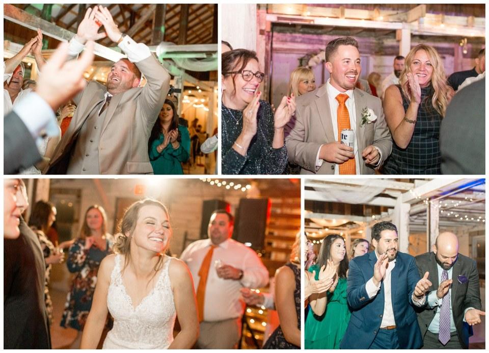 wedding reception at Eagle Manor